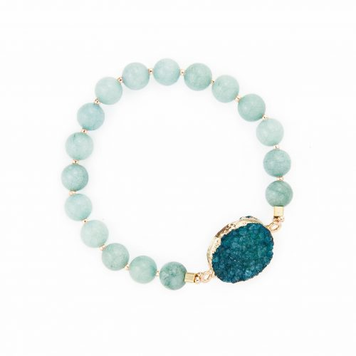 Natural Aquamarine Bracelet