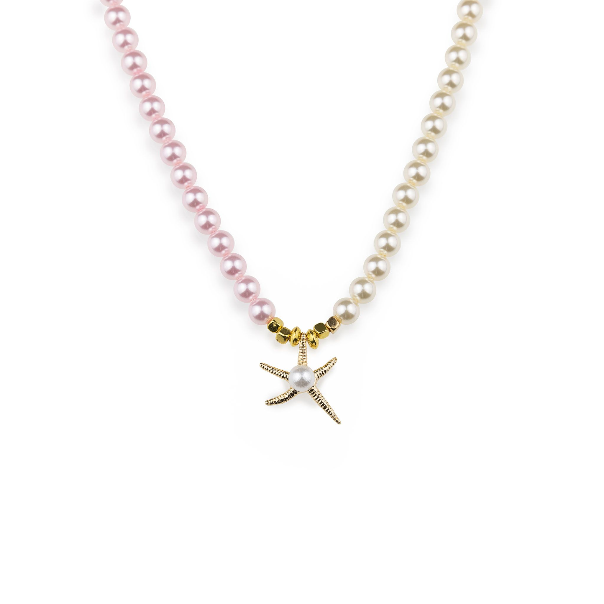 Starfish Swarovski Pearl Necklace